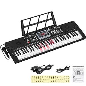 61 Key Electronic Keyboard Piano