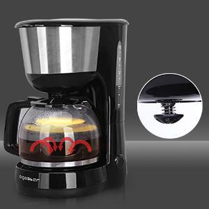 Aigostar Kaffeemaschine Edelstahl