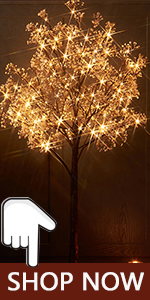 fllower tree lights