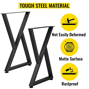 metal bench legs