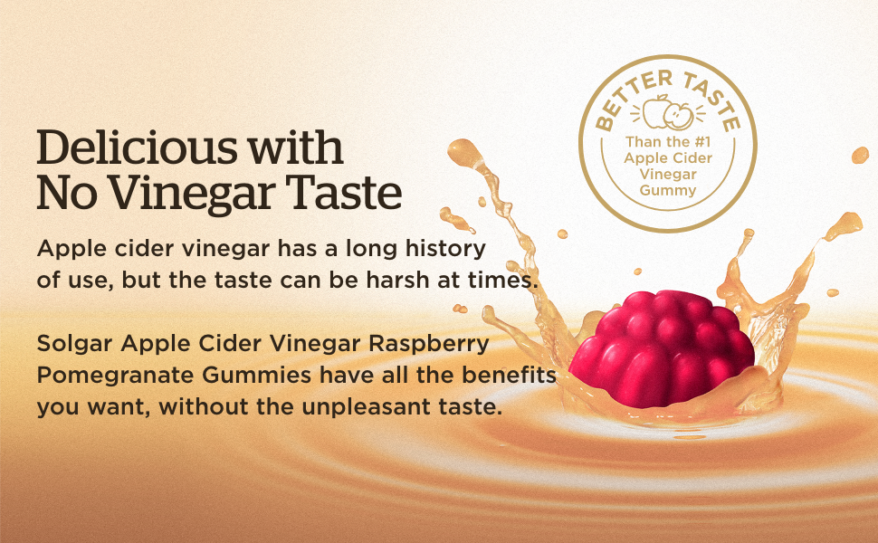 Delicious with No Vinegar Taste