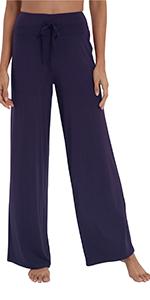 women pajamas pants soft sleepwear bottoms bamboo viscose loungewear pants pjs yoga pants