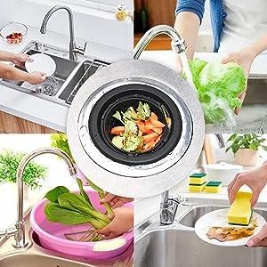 silicone kitchen sink strainer
