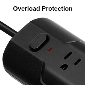 3 to 2 prong surge protector