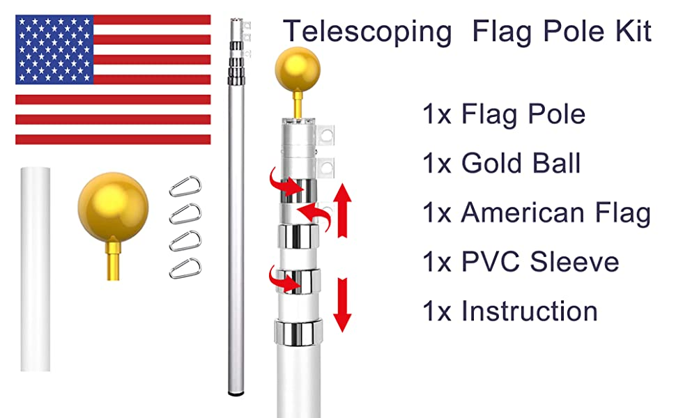 flag pole