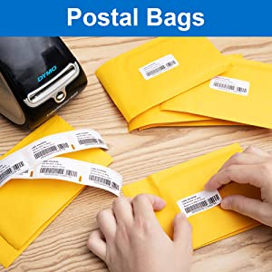 Replace for DYMO 30336 labels-using for postal bags
