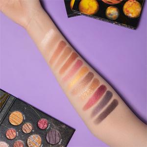 DiTO 12 color makeup pallet