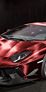 3D Carbon Fiber Red