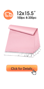 Metronic Poly Mailers 12x15.5