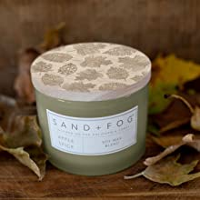 Sand + Fog Apple Spice scented candle