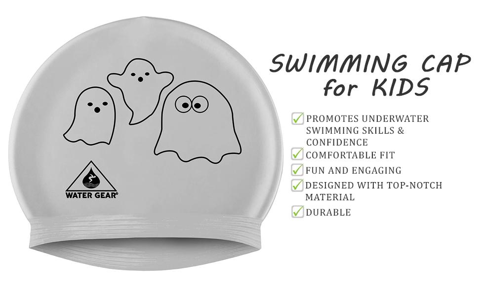 swim cap, Critter Cap, Toddler Swimming Cap, Swimming Cap for Kids, toddler hats for boys, swimcap