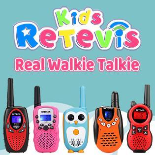 Retevis walkie talkie for kids toys real walkie talkie