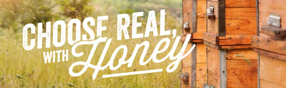 Choose real with Honey