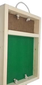 brick building tray