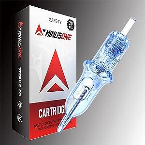 A-minusone tattoo cartridge needle suitable for most tattoo pen