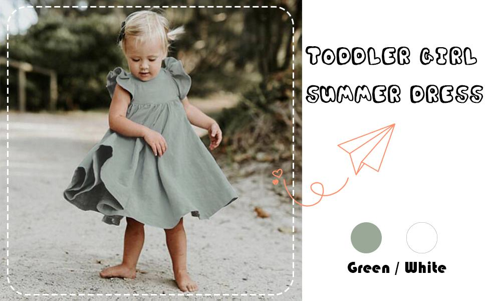toddler girl dress 2-7 Years