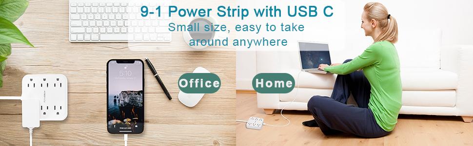 power strip with usb ports