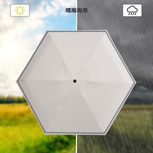日傘 折りたたみ 晴雨兼用 レディース