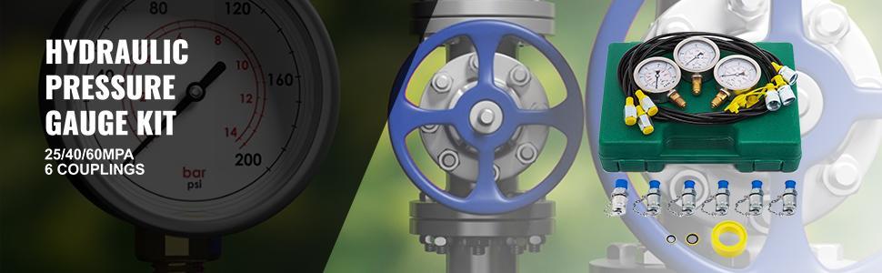 hydraulic gauge test