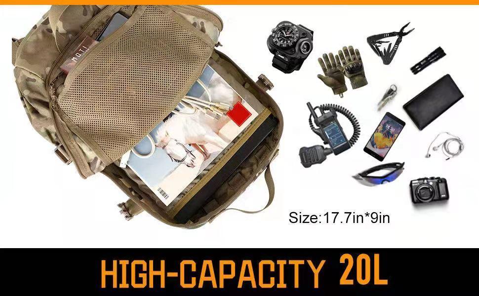 Military Backpack High-capacity