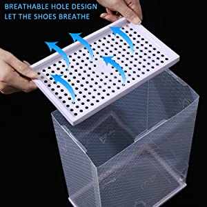 Breathable Hole Design, Let The Shoes Breathe