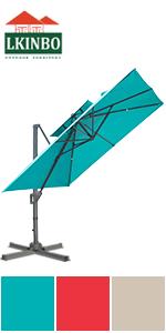 10X10FT Umbrella Blue
