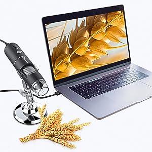 T Takmly wireless digital microscope usb camera support widows pc laptop, macbook