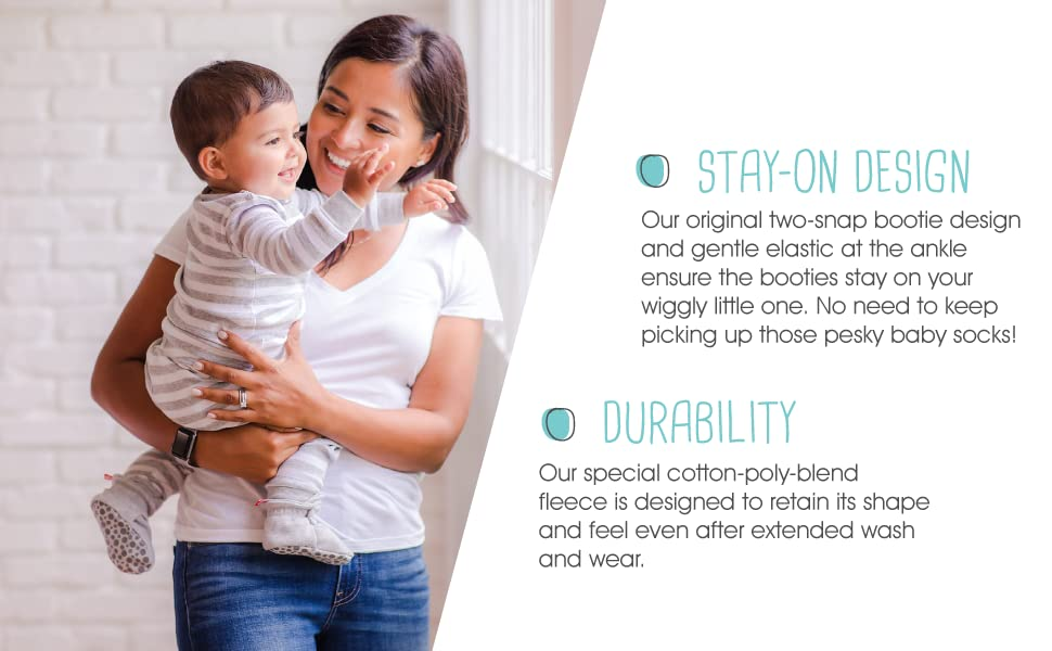 Stay-On Design and Durability
