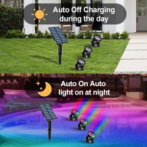 auto solar light