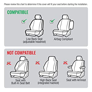 3D Seat Cover Compatibility Chart