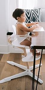 Nomi Wooden High Chair