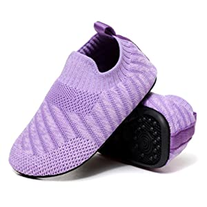 Breathable uppers and Soft lined for long lasting Comfort
