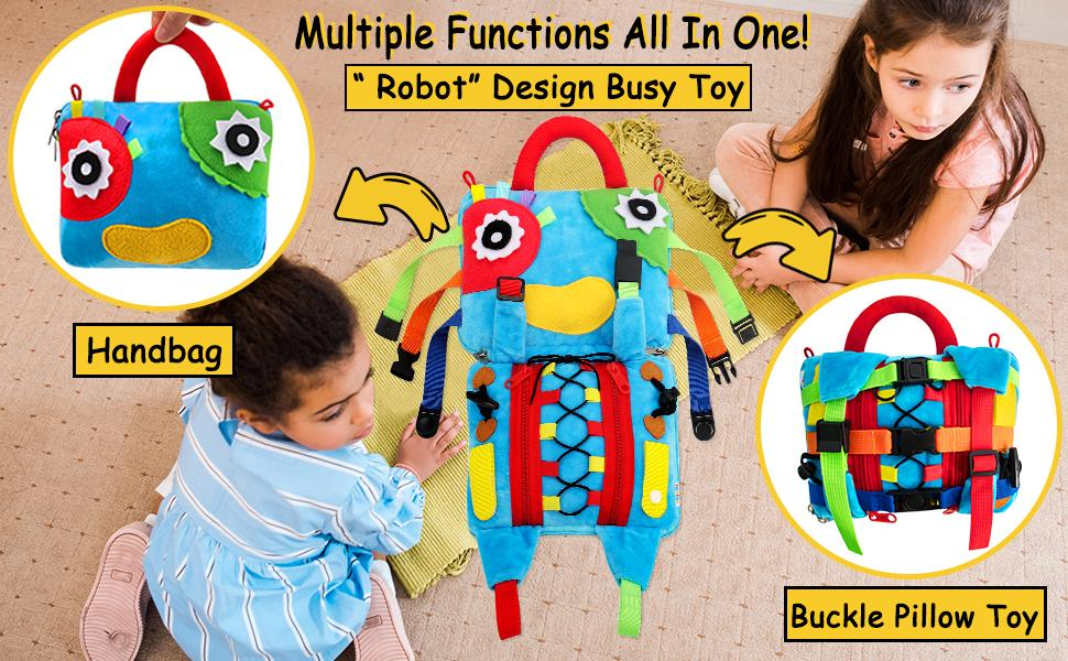 Educational learning toy for toddlers
