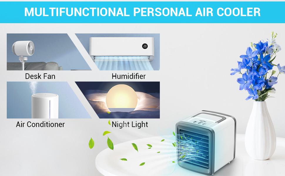 Multifunctional Personal Air Cooler