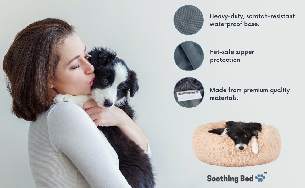 Calming Dog Bed Features