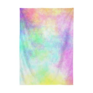 colorful striped spill proof table cloth