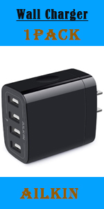 4port wall charger