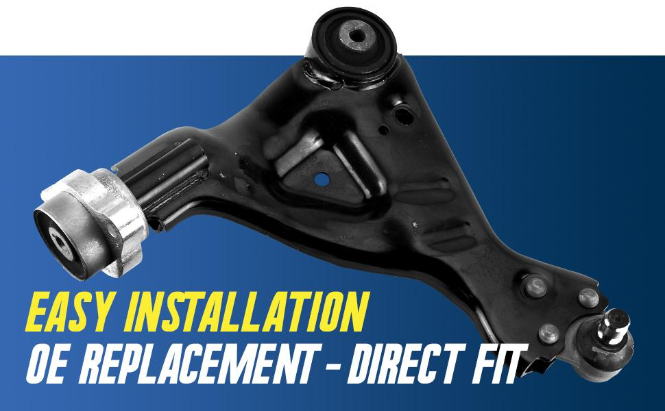 easy installation oe replacement direct fit