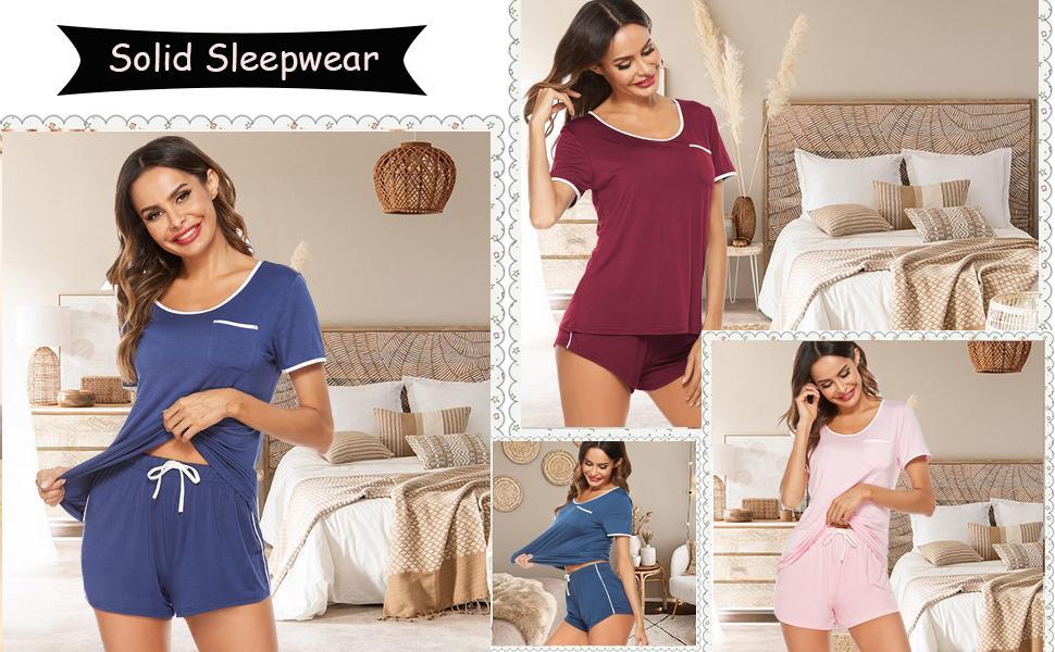 pajamas set with pockets