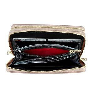 fortune, redpocket, Cloe, pocket wallet for women