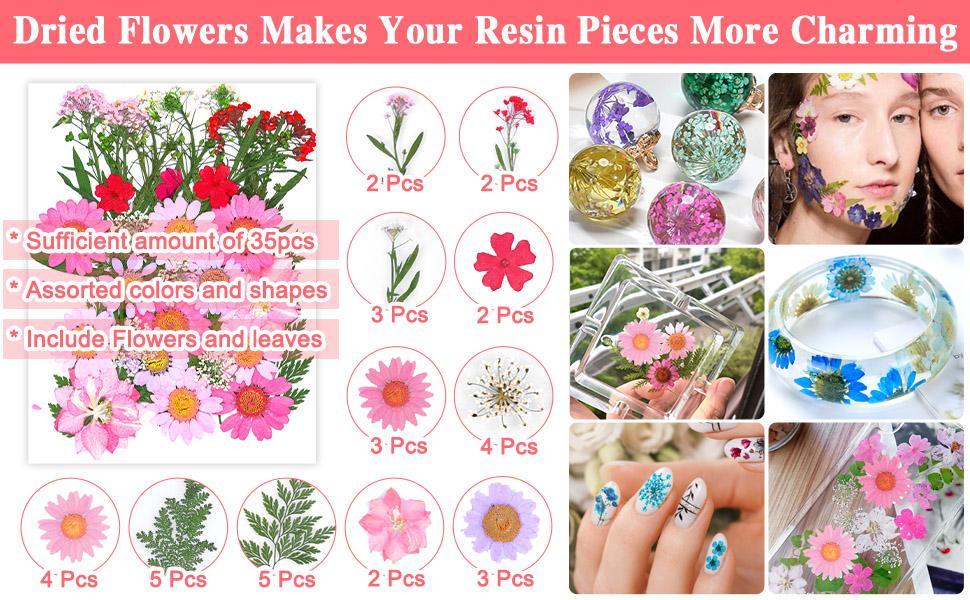 Resin Flowers