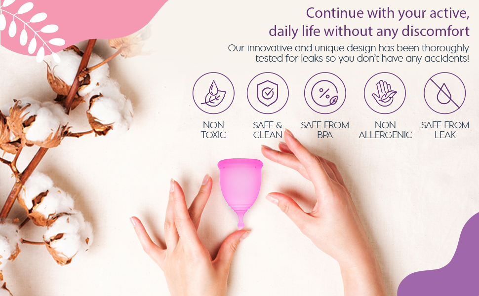 Reusable soft menstrual cup