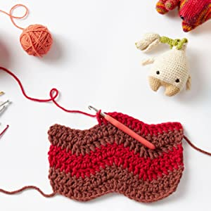 Crochet or knit any project you need with our large assortment of colors and weights of yarn