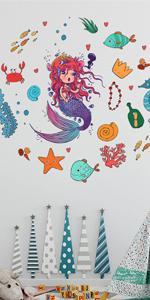 Fymural Undersea Wall Stickers Decor
