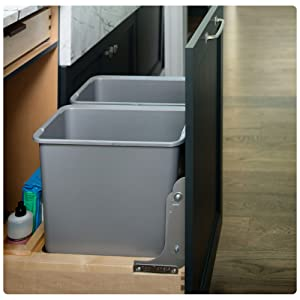 Kitchen, Trash, Trash Cans, Waste Containers, Trash amp; Recycling, garbage cans