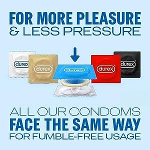 Durex, For more pleasure and less pressure
