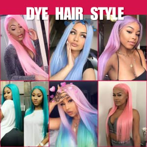 the wig can be dyed