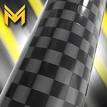 "Mega Racer 3"" Black Antenna 100% Real Carbon Fiber"