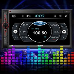 car radio with FM AM