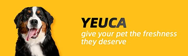 Yeuca Inflatable Collar for Dogs and Cats